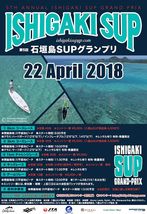 5th石垣島SUPグランプリ2018