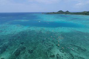 八重山諸島各地でSUP